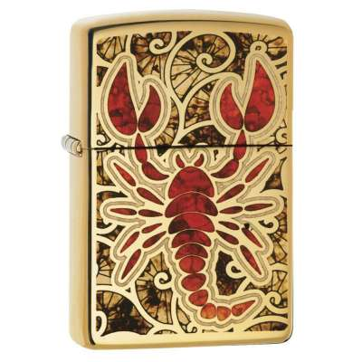Зажигалка Zippo Scorpion Shell 29096