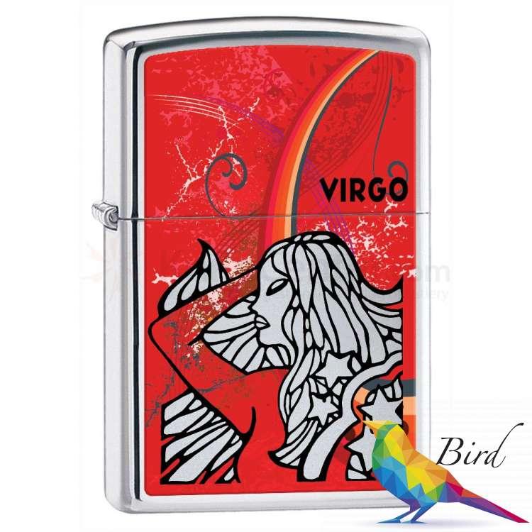Фото Зажигалка Zippo ZODIAC VIRGO 24936 | Интернет магазин Bird.in.ua