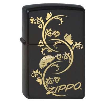 Зажигалка Zippo FLORAL FAN 218.907