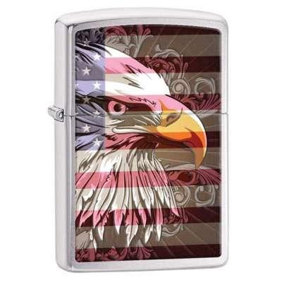 Зажигалка Zippo Eagle Flag 28652