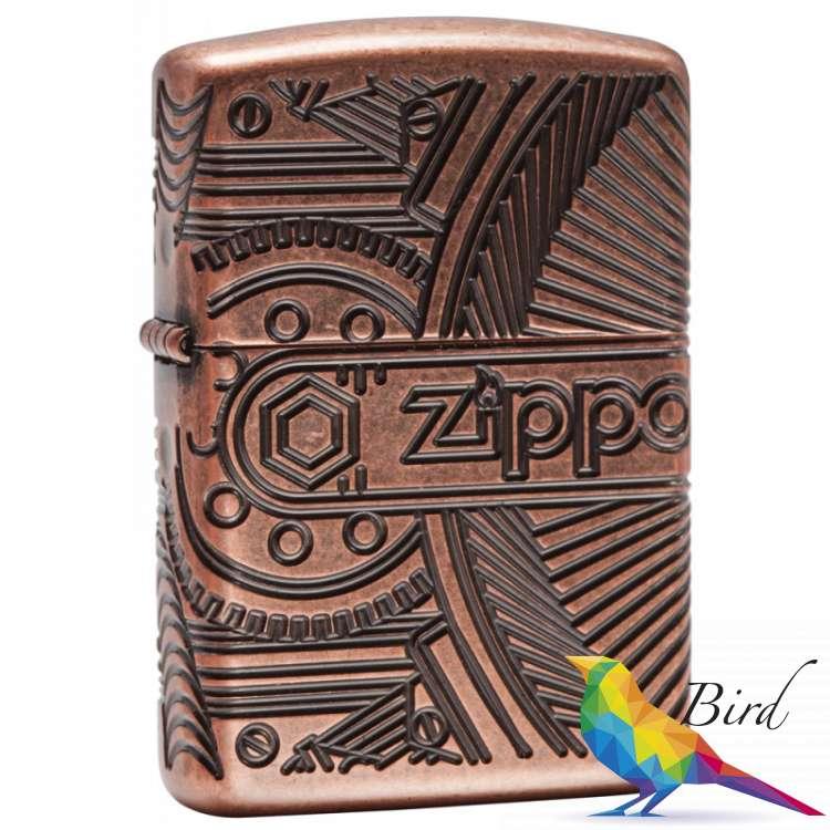 Фото Зажигалка Zippo Gear 29523 | Интернет магазин Bird.in.ua