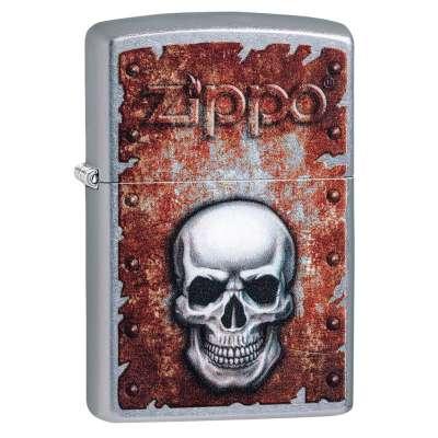 Зажигалка Zippo Rusted Skull 29870