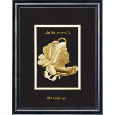 Сувенирное панно Golden Дева 800.8 HB