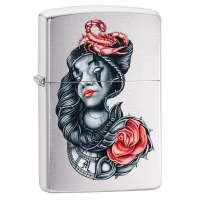 Зажигалка  Zippo Stylized Tattoo Design 49112