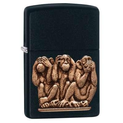 Зажигалка Zippo Three Monkeys 29409