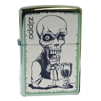 Зажигалка Zippo Skeleton Bartender 28679