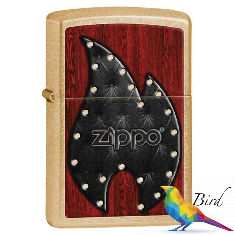Фото Зажигалка Zippo Leather Flame 28832   Интернет магазин Bird.in.ua