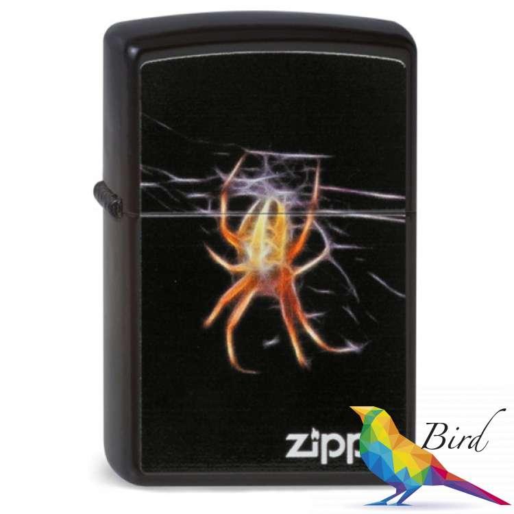 Фото Зажигалка Zippo YELLOW SPIDER 218.439   Интернет магазин Bird.in.ua