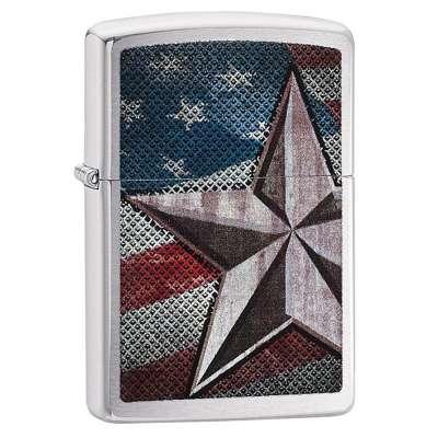 Зажигалка Zippo Retro Star 28653