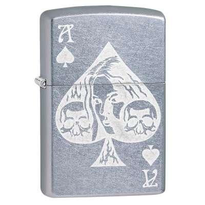 Зажигалка  Zippo Ace of Spades Goth 49113
