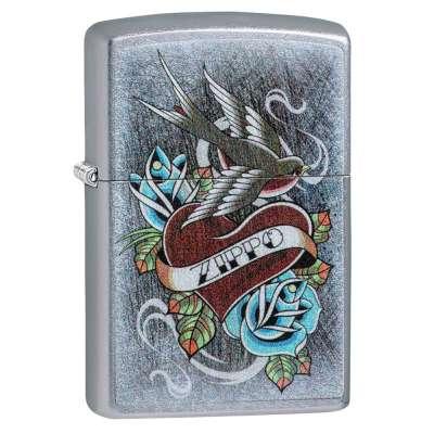 Зажигалка Zippo Vintage Tattoo 29874