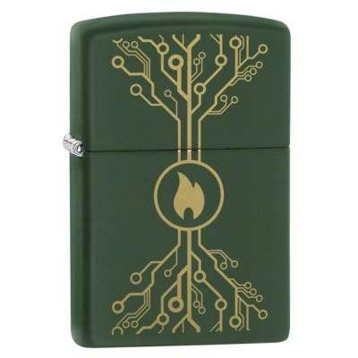 Зажигалка Zippo (Зиппо) Flame Tech Design 49221