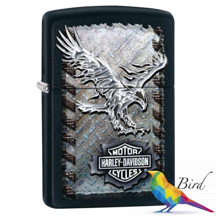 Фото Зажигалка Zippo Harley-Davidson® Iron Eagle 28485 | Интернет магазин Bird.in.ua