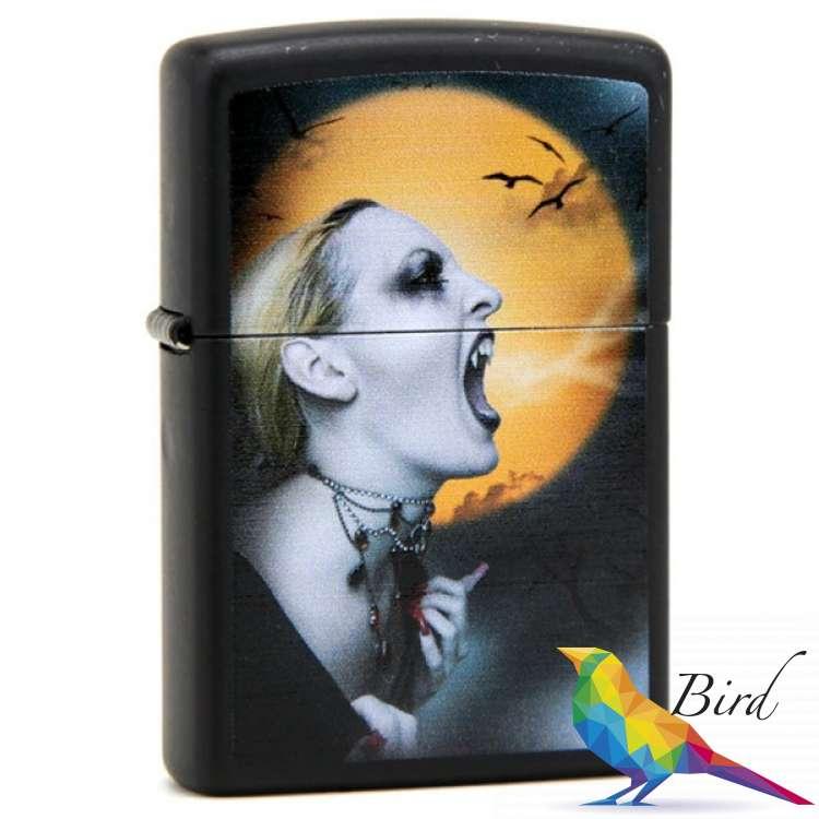 Фото Зажигалка Zippo SCREAMING VAMPIRESS 28435 | Интернет магазин Bird.in.ua