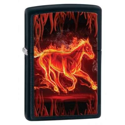 Зажигалка Zippo HORSE FLAMING 28304