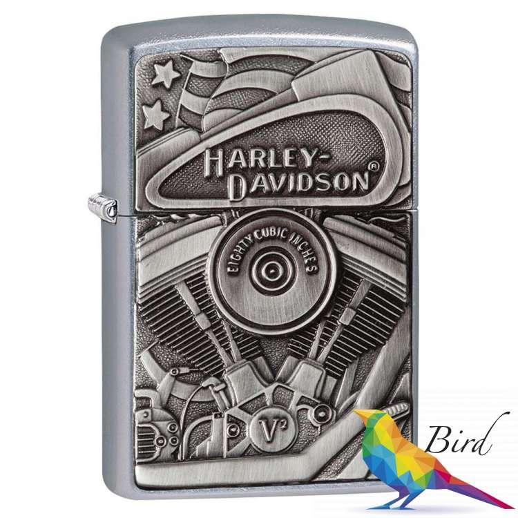 Фото Зажигалка Zippo Harley-Davidson Motor Flag 29266   Интернет магазин Bird.in.ua