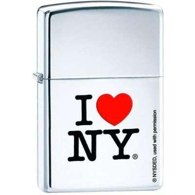 Зажигалка Zippo I LOVE NY 24799