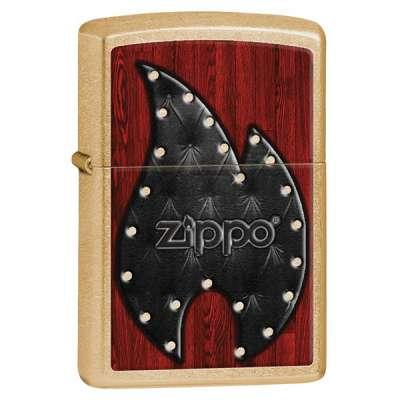 Зажигалка Zippo Leather Flame 28832