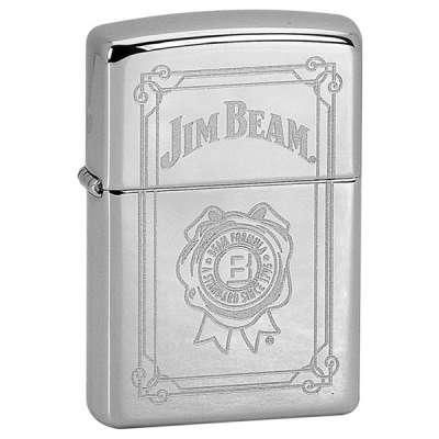 Зажигалка Zippo + Фляга  JIM BEAM 28414