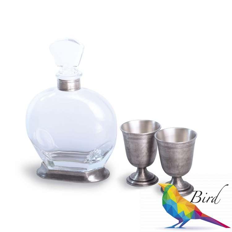 Фото 60394 5 набор для спиртного KLASSIK 3 предм. | Интернет магазин Bird.in.ua