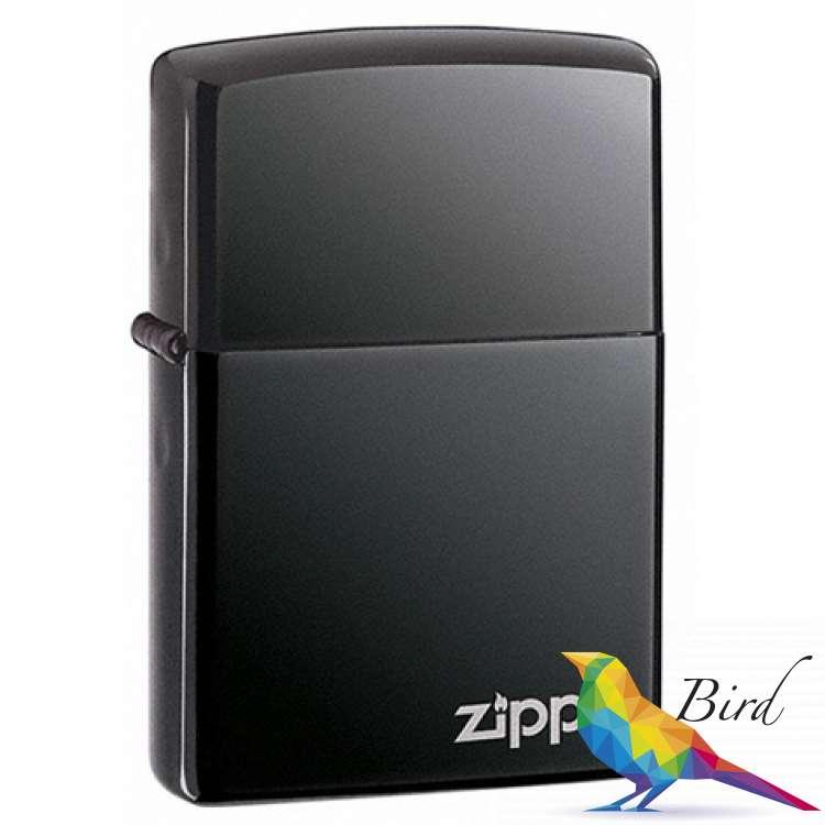 Фото Зажигалка Zippo BLACK ICE w/ZIPPO LOGO 150 ZL | Интернет магазин Bird.in.ua
