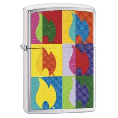 Зажигалка Zippo Abstract Flame 29623