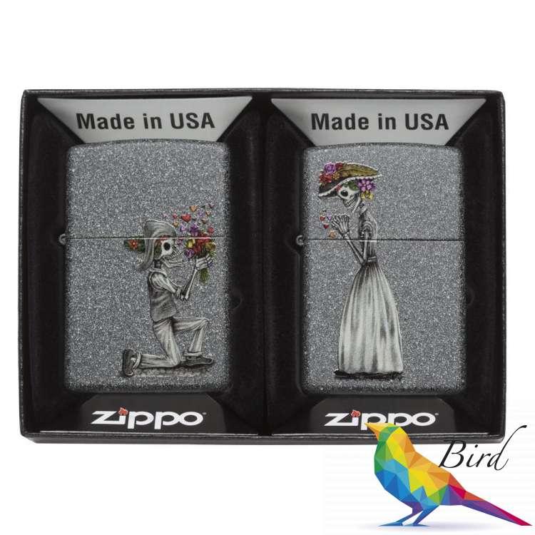 Фото Зажигалка Zippo Day of Dead Skulls Set 28987 | Интернет магазин Bird.in.ua