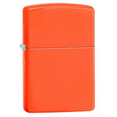 Зажигалка Zippo Neon Orange Lighter 28888
