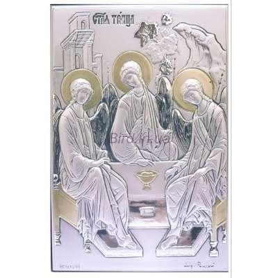 Серебряная Икона Leader Argenti Святая Троица 130х180 05.13.266D