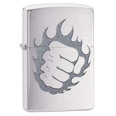 Зажигалка Zippo Tattoo Fire and Fist 29428