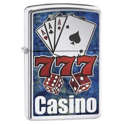 Зажигалка Zippo Fusion Casino 29633