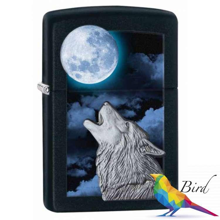 Фото Зажигалка Zippo Howling Wolf 28879 | Интернет магазин Bird.in.ua