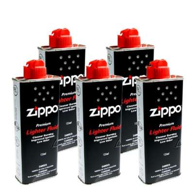 Набор из 5 Топливо Zippo 125 ml