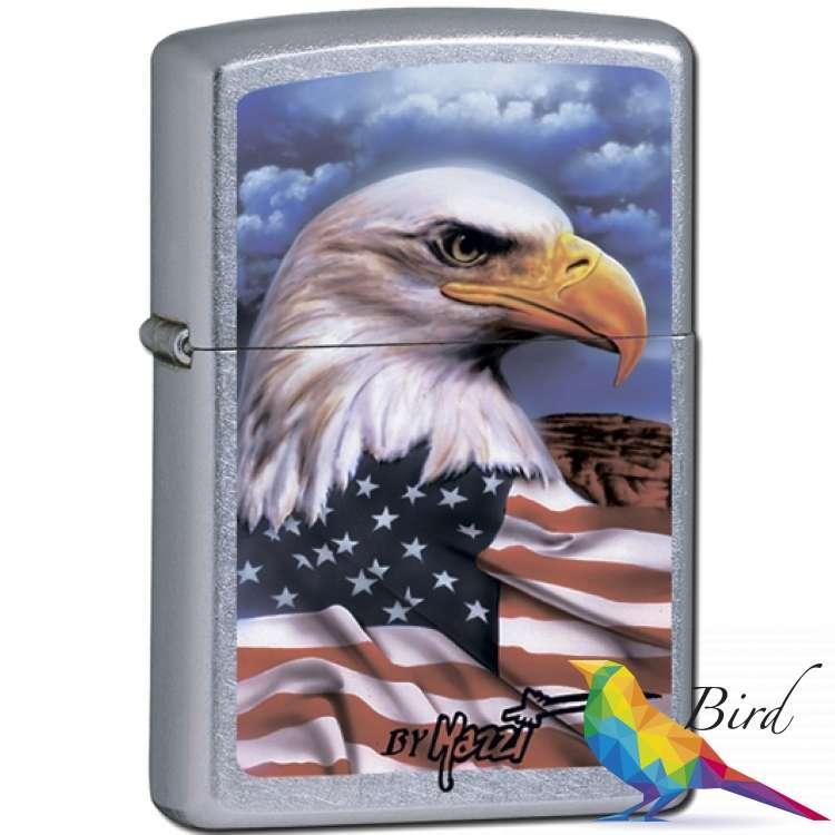 Фото Зажигалка Zippo FREEDOM WATCH 24764 | Интернет магазин Bird.in.ua
