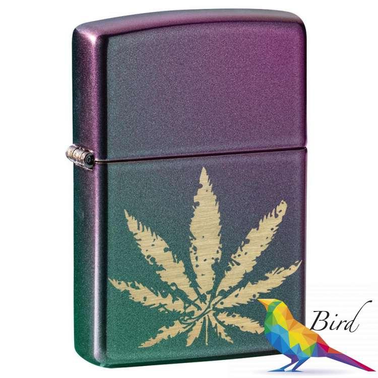 Фото Зажигалка  Zippo Cannabis Design 49185 | Интернет магазин Bird.in.ua