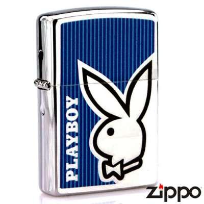 Зажигалка Zippo PLAYBOY BUNNY BLUE 28261