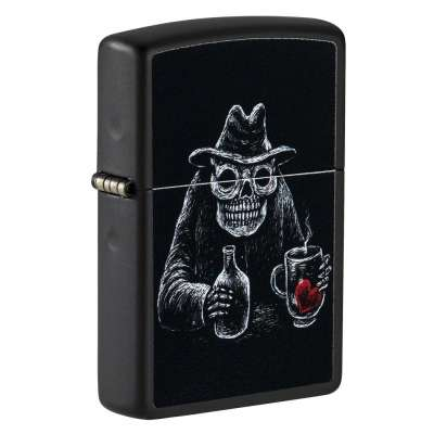 Зажигалка  Zippo  Bar Skull Design 49254
