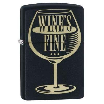 """Зажигалка Zippo Wine""""s Fine 29611"""