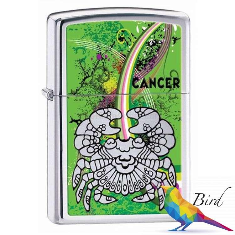 Фото Зажигалка Zippo ZODIAC CANCER 24934 | Интернет магазин Bird.in.ua