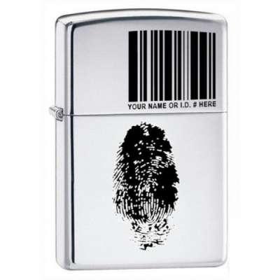 Зажигалка Zippo FINGER ID 20836