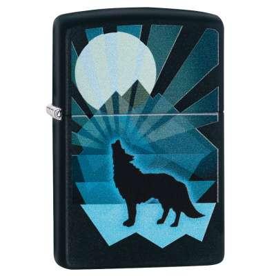 Зажигалка Zippo Wolf And Moon 29864