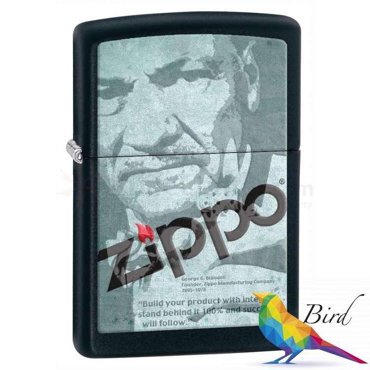 Фото Зажигалка Zippo DEPOT ZIPPO LOGO 28300 | Интернет магазин Bird.in.ua