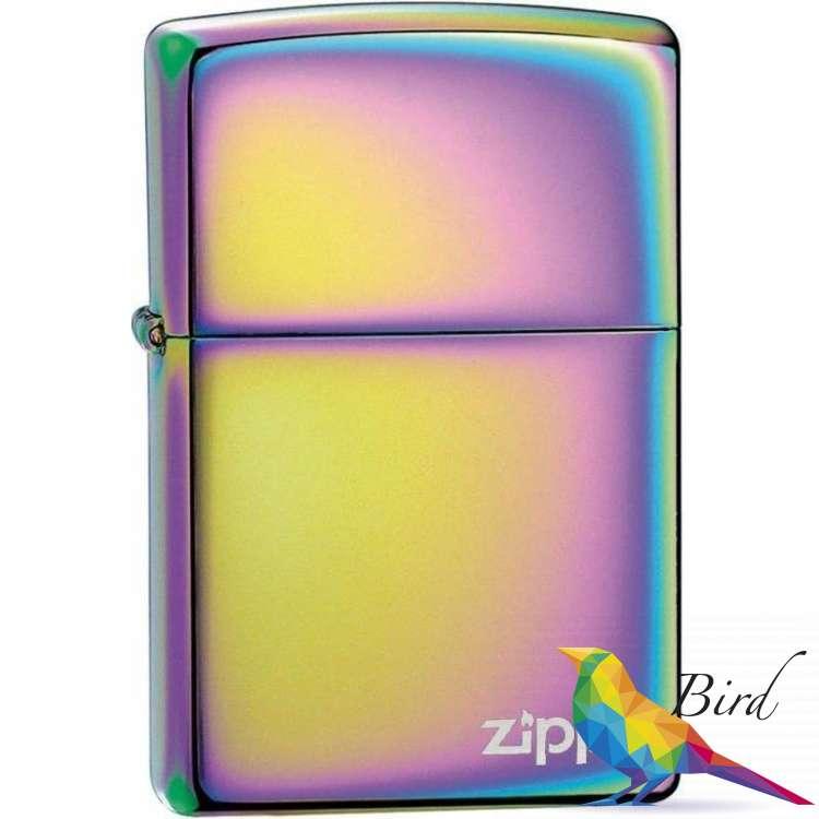 Фото Зажигалка Zippo SPECTRUM ZIPPO LOGO 151ZL | Интернет магазин Bird.in.ua