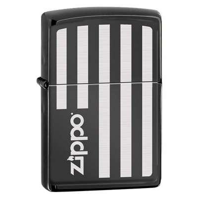 Зажигалка Zippo FLAG EBONY 323739