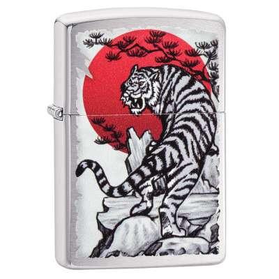 Зажигалка Zippo Asian Tiger 29889