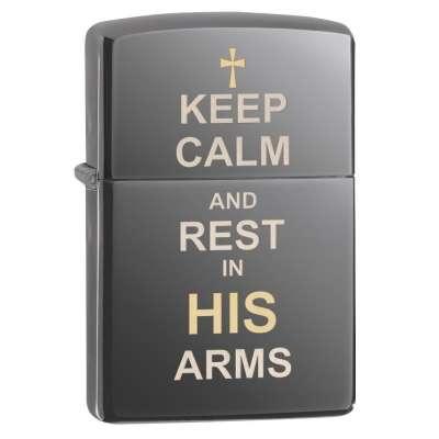 Зажигалка Zippo Keep Calm 29610