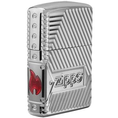 Зажигалка Zippo Bolts Design Armor 29672