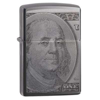 Зажигалка  Zippo Currency Design 49025