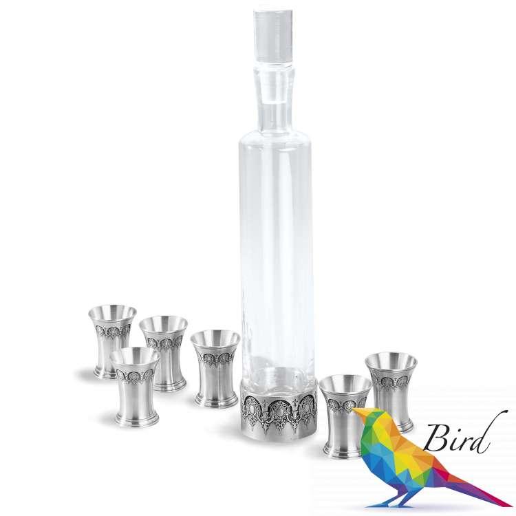 Фото 16218 3  Набор для водки - 7 предметов | Интернет магазин Bird.in.ua