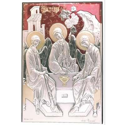 Серебряная Икона Leader Argenti Святая Троица 100х150 05.B815.266R
